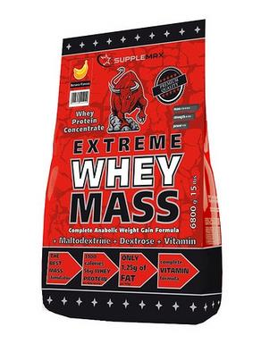 Extreme Whey Mass Supplemax 6800 грамм (гейнер)
