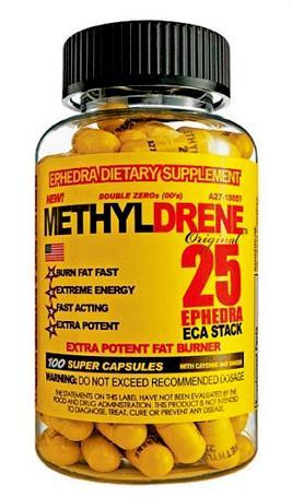 Жиросжигатель Cloma Pharma - Methyldrene 25 (100 капсул)