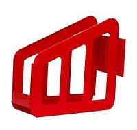 Кассета д.51 д.66 д.77 универсальная из полиамида (красная)