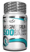 Natural Magnesium 500  BioTech USA 120 caps.