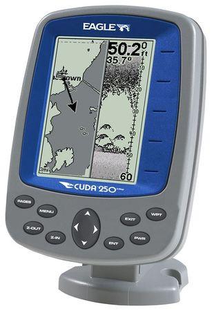 Эхолот для рыбалки Eagle Cuda 250 s/map