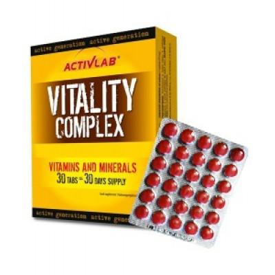 Vitality Complex ActivLab 30 tabs. (на один месяц)