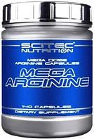 Аргинин Scitec Nutrition - Mega Arginine (140 капсул)