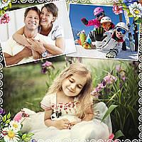 Плюшевая подушка с печатью на 3 фото (вариант 2)