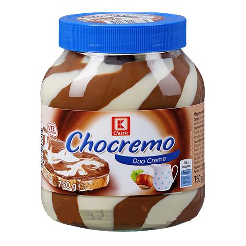 Шоколадно - ореховый крем Chocremo Duo Cream - 750 гр.