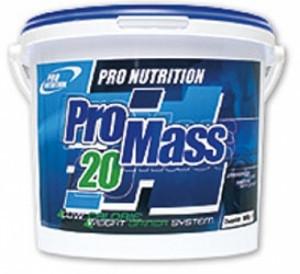 Pro Mass 20 Pro Nutrition 6000 грамм (гейнер)