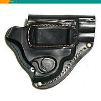 Кобура револьверы поясная кожаная скрытое ношение (008)