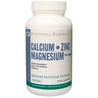 Calcium Zinc Magnesium Universal Nutrition 100 tabs.