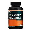 Flaxseed Oil Optimum Nutrition 100 softgels