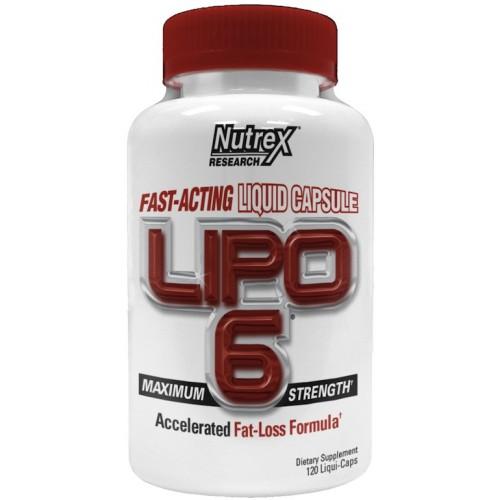 Lipo-6 Liquid Nutrex Research 120 сaps. (жиросжигатель)***