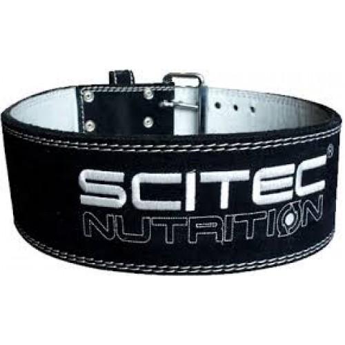 Пояс кожаный атлетический Scitec Nutrition - Super Powerlift L