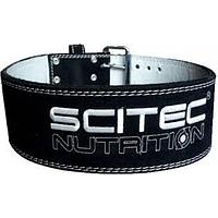 Пояс кожаный атлетический Scitec Nutrition - Super Powerlift