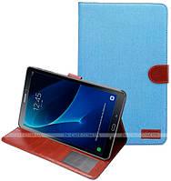 Чехол Jeans Cover для Samsung Galaxy Tab A 10.1 2016 SM-T580, SM-T585 Blue