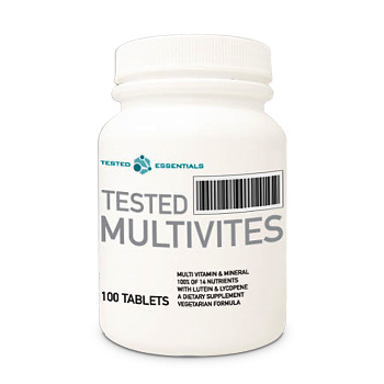 Multivites Tested Nutrition 100 tabs.