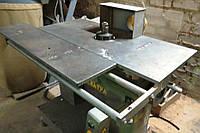 Фрезерный станок ФСШ-3-5 бу по дереву с шипорезной кареткой 05г. +аспирация