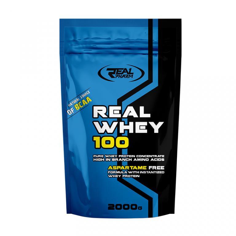 Сывороточный протеин Real Whey 100 Real Pharm 2000 грамм