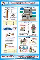 Стенд по охране труда «Ручной слесарный инструмент» №1