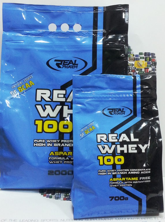 Сывороточный протеин Real Whey 100 Real Pharm 700 грамм