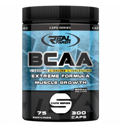 BCAA Real Pharm 300 caps.
