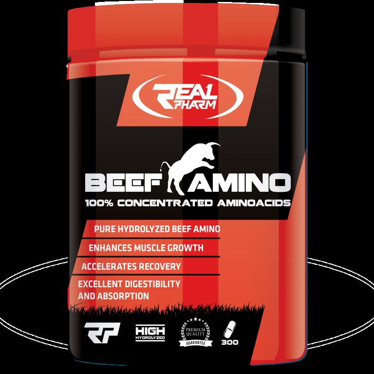Beef Amino Real Pharm 300 tabs.
