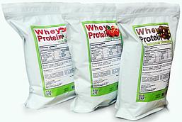 Сывороточный протеин Гадяч, вкусы: шоколад, банан, ваниль, вишня, клубника (15 кг) мешок