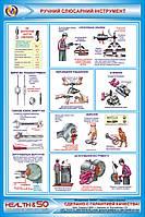 Стенд «Ручной слесарный инструмент» №2