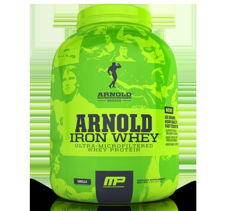 Arnold Iron Whey MusclePharm 2270 грамм