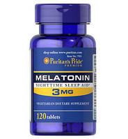 Мелатонин Puritan's Pride - Melatonin 3 мг (120 таблеток)