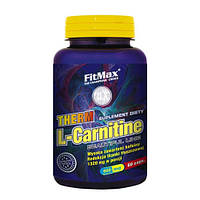Therm L-Carnitine FitMax 60 caps. жиросжигатель карнитин