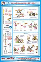 Стенд по охране труда «Ручной слесарный инструмент» №3