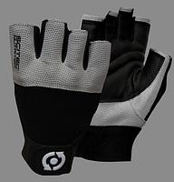 Перчатки кожаные Scitec Nutrition - Grey Style M