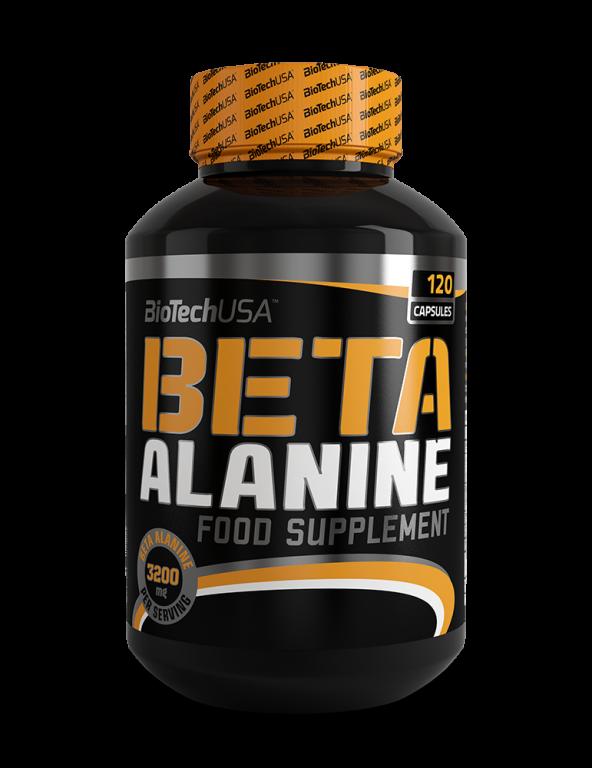 Бета-аланин BioTech - Beta-Alanine (120 капсул)