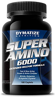 Super Amino 6000 Dymatize Nutrition 180 caps.