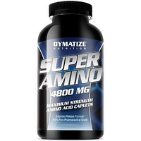 Super Amino 6000 Dymatize Nutrition 345 caps.