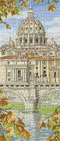 """Набор для вышивания """"Базилика Святого Петра (St. Peter s Basilica)"""" ANCHOR"""