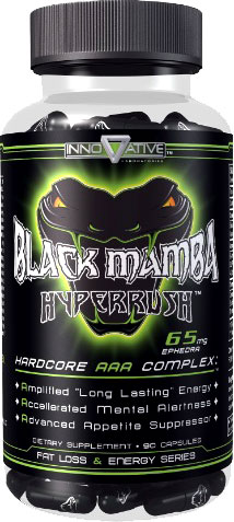 Жиросжигатель Innovative labs - Black Mamba (90 капсул) ***