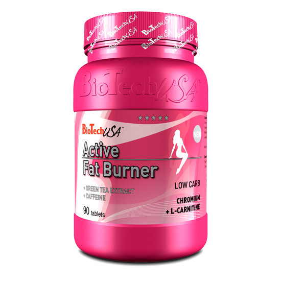 Active Fat Burner BioTech USA 90 tabs.