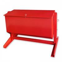Ящик для песка опрокидывающий 0,12 м³