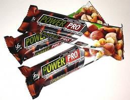 Протеиновый батончик 36% орех Nutella Power Pro 60 грамм
