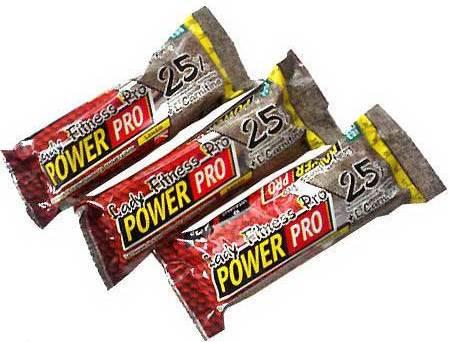 Протеиновый батончик Lady Fitness Pro 25% Power Pro 60 грамм банан
