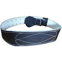 Тяжёлоатлетический кожаный пояс (10 см), фото 1