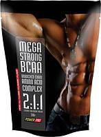 Аминокислоты Power Pro - Mega Strong BCAA 2:1:1 (300 грамм)