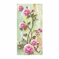 """Картина для рисования камнями Diamond painting Алмазная вышивка """"Вьющиеся розы"""", фото 1"""