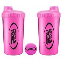 Шейкер Real Pharm 700 ml розовый/pink