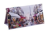 Женский кошелек -Пара в Париже-. Ручная работа