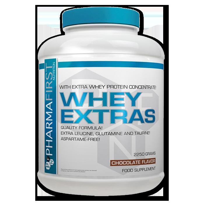 Whey Extras Pharma First 2250 грам