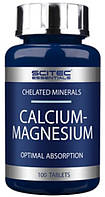 Комплекс минералов Scitec Nutrition - Calcium-Magnesium 750 мг (100 таблеток)