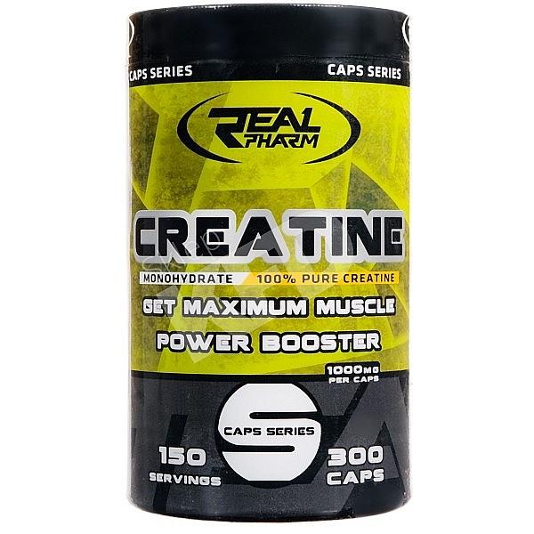 Creatine Monohydrate Real Pharm 300 caps.