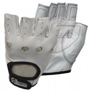 Перчатки кожаные Scitec Nutrition - White Style