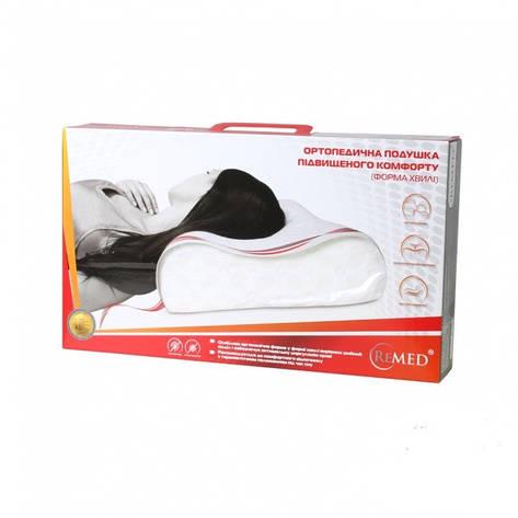 Ортопедическая подушка повышенного комфорта (классическая форма) Grande 660 x 420 x 111 мм, фото 2
